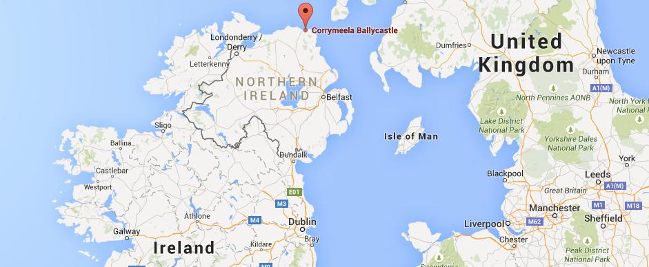 Directions To Ballycastle Corrymeela - Where is dublin